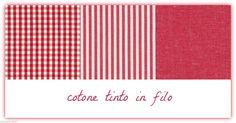 Cotone tinto filo cucito creativo tovagliati riga rosso vivo cm 50 x 180   Casa, arredamento e bricolage, Hobby creativi, Cucito, tessuti e merceria   eBay!