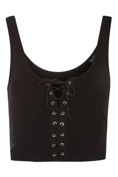 TALL Lace Up Front Bralet