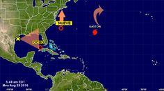 Tres tormentas en el Caribe: una podría llegar a Florida