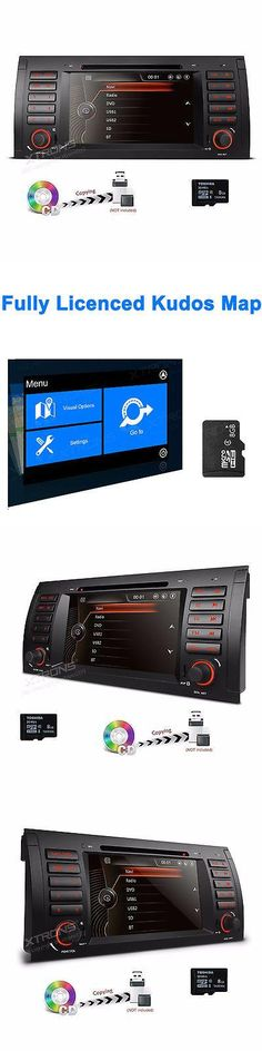 Vehicle Electronics And GPS: For Bmw X5 E53 1996-2006 Car Nav Stereo Dvd Gps Mp3 Player 7 Touch Radio Canbus BUY IT NOW ONLY: $279.99 #priceabateVehicleElectronicsAndGPS OR #priceabate