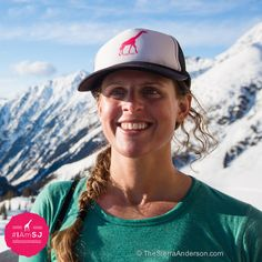 Cristy Watson - SheJumps Web Director. Southeast Regional Coordinator. Skier. Mountaineer. Digital Genius. Outdoor Lover. #IAmSJ