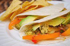 Crazy Deliciousness: Cilantro & Lime Chicken Tacos