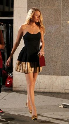 Blake's dress on Gossip Girl. Love.