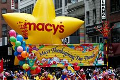 go to the Macy's Thanksgiving Day Parade