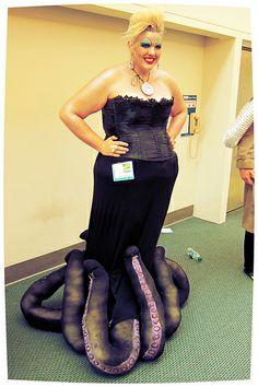 Ursula cosplay at San Diego Comic Con