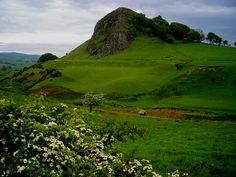 Loudoun Hill.  I would climb to the top!