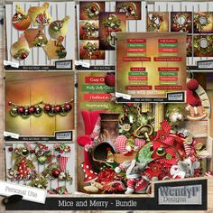 Mice and Merry - Bundle :: Memory Scraps