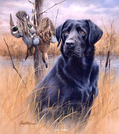 Faithful Friends Black Lab-Mixed BagArtist Proof Edition