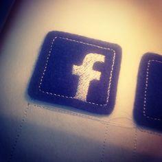 Facebook Logo Patch