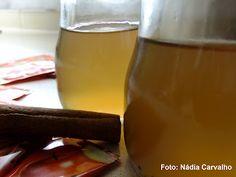 Gelatina de Chá Maçã e Canela