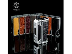 Lost Vape Therion Dual 18650 DNA 75 Box Mod  The Lost Vape Therion is one of the first platforms to fully deploy a dual battery powered Evolv DNA 75, combining dynamic and capable output with Lost Vape's renowned chassis design and quality to present an affordable yet extremely beautiful device. The Therion features a curved chassis design refined from the Lost Vape Triade, adding unique and tasteful Ebony wood accent panels to create a cohesive yet visually striking overall aesthetic. The…