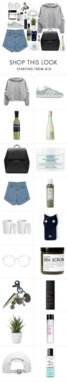 """Its not so funny to me"" by skittlebum ❤ liked on Polyvore featuring adidas Originals, Benefit, Witchery, Kiehl's, Linne, ROOM COPENHAGEN, Valfré, Topshop, Fig+Yarrow and AllSaints"