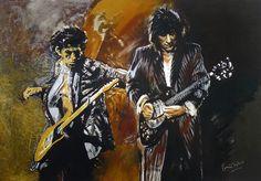 Ronnie Wood Art