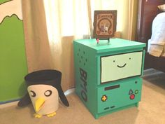 This is so cute!!! It would be great to mix in with a room that wasn't AT related, to show you're a fan even though your bedroom doesn't look like Marceline's.