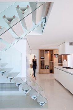 apt Kaz - modern - staircase - tel aviv - Gerstner