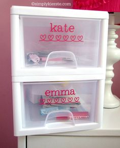 Treasure Boxes for Kids | simplykierste.com This is genius! A must for my Lily Grace, the treasure collector :)