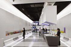 Interaktives Design, Free Interior Design, Media Design, Design Firms, Urban Design, City Information, Information Center, Museum Architecture, Interior Architecture