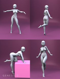 Drawing Unique Bell Anime Poses for Keiko 6 and Aiko 6 Human Figure Drawing, Figure Drawing Reference, Anatomy Reference, Character Modeling, Character Art, Character Design, 3d Modeling, Human Poses Reference, Pose Reference Photo