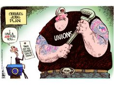 REPIN if you agree that Obama's relationship with the unions is over the top.