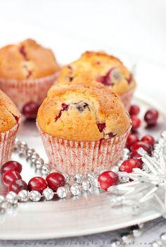 Delicioso estilo de vida - Con elogios a la comida: Pre-Navidad magdalenas de arándanos..