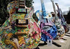 Cool guitar art