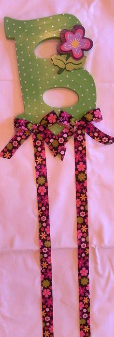 Custom Hair Bow Holder by SassyPeasDesigns on Etsy