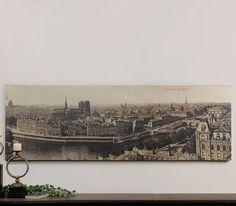 Uttermost Panorama de Paris Vintage Art