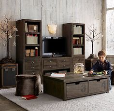 Aviation Themed Rooms | Themed rooms, Restoration hardware and ...
