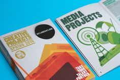 The Roundhouse's Creative Projects programme has been given a revamp for 2015. Working within a similar colour palette, we stripped back the existing style and used clean overlapping shapes to create graphics with a fresh, urban approach. Our aim was to convey the breadth and depth of the creative projects programme. them.co.uk
