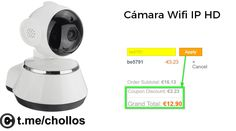 Cámara vigilancia Wifi IP 720p disponible por 12 - http://ift.tt/2t4rh7K