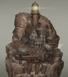 Kit Homes, Art School, Master Chief, Concept Art, Cool Designs, House Kits, Clouds, Architecture, World