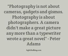 talent is in the eye of the phtographer
