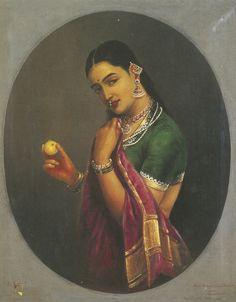 varma raja ravi untitled (portra | figurative | sotheby's n09479lot8tp8nen