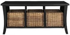 Wallis Entryway Storage Bench - Storage Bench - Entryway Storage - Storage Bench Seat   HomeDecorators.com