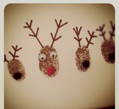 #Winter #Holiday activities for kids - Thumbprint Wrapping paper. Crafts that actually turn into keepsakes courtesy of Helen Woodward Animal Center's Education Dept.