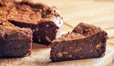 Saftiger Low Carb Schoko-Nuss-Kuchen