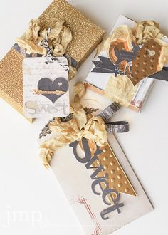 Sizzix eclips2 Inspiration | Oh Deer Gift Box Embellishments by Jamie Pate