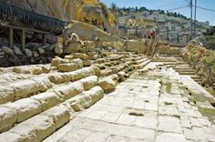 The Siloam Pool: Where Jesus Healed the Blind Man | A sacred Christian site identified by archaeologists