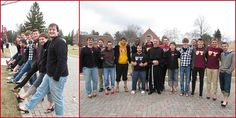 """The brothers of Psi Upsilon strutted their stuff for a good cause during their annual """"A Day in Her Shoes."""" They wore heels around campus, raising more than $636 for the Women's Help Center in Johnstown, PA."""