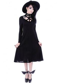 Futuristic Gothic Tunic Dress
