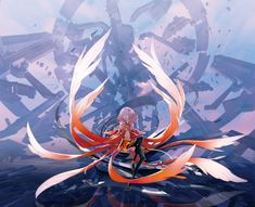 Anime picture with guilty crown production i.g yuzuriha inori redjuice long hair single tall image open mouth pink hair eyes closed girl thighhighs hair ornament black thighhighs detached sleeves hairclip bodysuit Art Manga, Manga Girl, Manga Anime, Anime Art, Guilty Crown Wallpapers, Inori Yuzuriha, The Garden Of Words, Belle Cosplay, The Ancient Magus