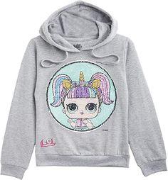 Cute Sweatshirt  Bekleidung, Mädchen, Sweatshirts & Kapuzenpullover, Kapuzenpullover Sweat Shirt, Graphic Sweatshirt, Hoodies, Amazon Fr, Sweaters, Shirts, Queen, Fashion, Lol Dolls