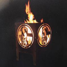 Das wird dieses Jahr unser #feuerkorb  #schalke #schalke04