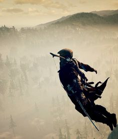 Leap of Faith. Connor Kenway. Assassin's Creed III.
