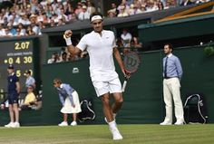 Welcome to NewsDirect411: Federer Beats Murray In 3 Sets To Reach 10th Wimbl...