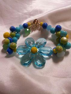 Springtime bracelet!! Too cute!!