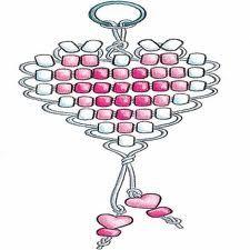 Heart pony bead pattern