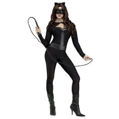 Adult Sexy Feline Fever Cat Suit by FunWorld 122694, 10 to 12,12 to 14,2 to 4,6 to 8, Multi