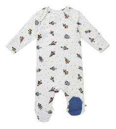 Piccalilly Sleepsuit Rocket (0-3m-6-12m)