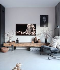 TV furniture from old sleepers with tge frame from samsun . TV furniture from old sleepers with TGE frame from Samsung – # sleepers Home Living Room, Interior Design Living Room, Living Room Designs, Living Room Decor, Apartment Living, Tv Furniture, Wooden Living Room Furniture, New Homes, House Design
